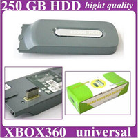 For Xbox   NEW SHELL CASE FOR XBOX 360 250GB HDD HARD DISK DRIVE_Hard drive case hight quality Free Shipping
