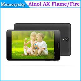 7 & amp; quot ; Ainol AX Feu Flamme MTK6592 Tablet PC Octa base 3G phablet IPS Retina 1920x1200 Android 4.4 1 Go 16 Go Bluetooth 002410