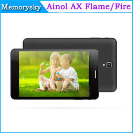 Wholesale 7 quot Ainol AX Flame Fire MTK6592 Tablet PC Octa Core G Phablet IPS Retina x1200 Android GB GB Bluetooth