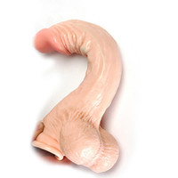 Non-Latex Big Dildo, Suction Cup Dildo TPR DHL Free Hot Selling Sturdy Suction Cup Dildo Super Big Dildo Realistic Penis Vibrating and Rotation Realistic Dildo Waterproof Penis