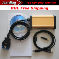 Code Reader For BMW TCS CDP PRO With OKI and bluetooth High Quality 2013 .03 Lastest TCS CDP PRO With OKI and bluetooth For Cars And Trucks Multi Language with DHLfree shipping