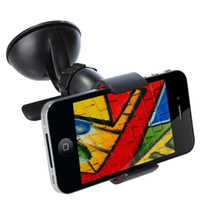For Apple iPhone   1pcs Mobile Phone Holder Car Windshield Sucker Mount Bracket Stand 360 Degree Rotating for GPS Tablet PC Universal Accessories