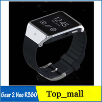 Android No Brand <1.8 Gear 2 Neo R380 Smart Watch Phone 4.0 BT Partner 2.0 MP Camera 512MB+8GB 1.63Inch Touchscreen Smart Wristwatch for S5 Note3 002411