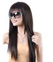 Cheap Black Synthetic Hair Wigs Best Straight Synthetic Hair  Hair Wigs