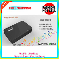 Wholesale WIFI Audio Receiver Music streaming receiver for speaker Airplay DLNA DMR Music Radio Receiver iOS amp Android Airmusic Air music hot sale