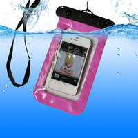 For Apple iPhone Plastic White For iPhone 5 5s 4 4s Sealed Waterproof Pouch Dry Bag Durable Water proof Bag Underwater back Cover Case