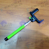 Cheap Wireless selfie stick for phone Best Wireless Shutter for iso and android cellphone  bluetooth selfie stick