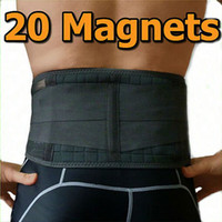 Back   1pc free shipping 20magnets ADJUSTABLE DOUBLE PULL BIO MAGNETIC LUMBAR & LOWER BACK SUPPORT BELT BRACE STRAP