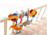 Cheap Cloth Baby Mobile Musical Best 0-12 Months Children's Day Bed Hanging Bell
