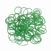 Rubber  Bracelet Fashion 900pcs 3lot Glow in The Dark Colourful Green Rainbow Loom Rubber Bands Bracelet Making Bandz DIY GNC6