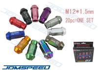 Wholesale JDMSpeed JDM D1 Spec M12 x Racing Lug Wheel Nuts Screw Aluminum Universal