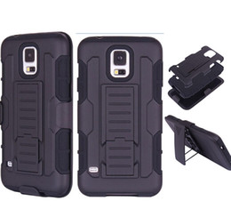 Wholesale Future Armor Impact Hybrid Hard Case Cover Belt Clip Holster Kickstand Combo for Samsung S5 S4 S3 iphone s s AAA fit