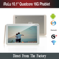 """New Arrival! iRuLu 10. 1"""" Quad Core Phone Tablet PC Andr..."""