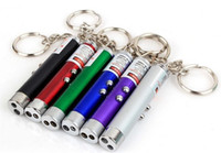 blue led flashlights - Mini Flashlight in1 LED Flashlight Red LED Laser Pen Pointer Flash Light Torch Flashlight Emergency Keychain Flashlight Silver Blue Green
