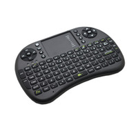 Wholesale Portable Air Mouse With Keyboard Rii Mini i8 Fly Mice Wireless Keyboard with Touchpad for PC Pad Google Andriod TV Box