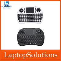 Wholesale Portable mini keyboard Rii Mini i8 Wireless Keyboard with Touchpad for PC Pad Google Andriod TV Box