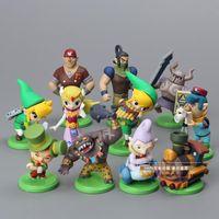 Wholesale The Legend of Zelda PVC Action Figure Collection Model Toys Dolls Classic Toys set OTFG113