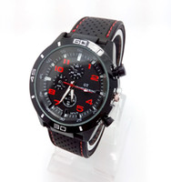 Luxury Unisex Day/Date NEW HOT F1 Speed Racer Men GT Sport Watch Military Watches Japen PC Movement Wristwatch Clock Free Shipping Drop Shipping