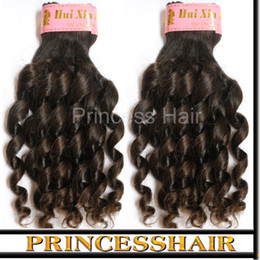 Peruivan Hair Weave Bouncy Curly Unprocessed Virgin remy Hair For Black Women 3pcs Full Bundles DHL Free Shipping