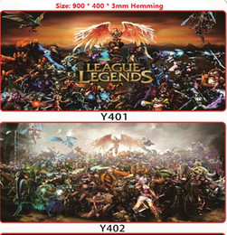 Wholesale The whole network exclusive anime gaming grade mouse pads LOL League of Legends mouse pads DZ0063