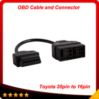 Code Reader adapter cable pin - Toyota Pin To Pin Female OBD Cable Connector Adapter Cable Car Diagnostic Tool