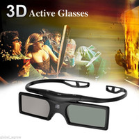 Wholesale Hot Sell Bluetooth D Active Shutter Glasses for D for Samsung LG TV HDTV Blue ray Player