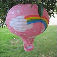 Cut art balloon - Multi Colors quot Hot Balloon Paper Lantern Festival Decoration Party Decoration DEC1415