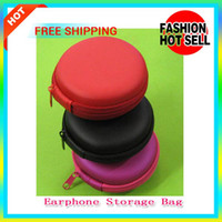 Cheap Colorful Earphone Storage Bags Mini Coin Purses Wallet Key Billfold Small Zipper Bag Change USB Cable Earphone Storage Case For Memory Cards