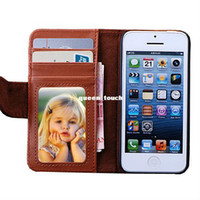 For Apple iPhone apple iphone - 50 HL Free Wallet ID Credit Card KickStand Flip PU Leather Purse Case Back Cover for Apple iphone G C S