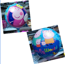 Wholesale 9 off in stock Crown Pig sister Porky Pig Space launch aluminum balloons inch sides of the balloon drop shipping on sale GX