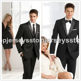 Wholesale 2014 formal brand Wedding Suits for Men Pieces one coat one trousers t one tie mens suits men wedding suits groom tuxedos