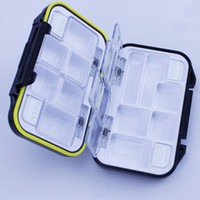 bait box Square bait box Fish Lure Tool Organize Waterproof Case Fishing Tackle Box