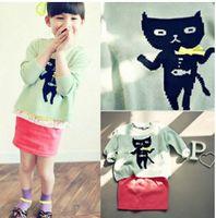 children fashion sweater - 2014 New Arrival Fashion Style Sweaters Baby Children Sweaters New Fashion Style Sweaters Girls Lovely Sweaters