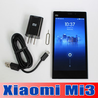 xiaomi mi3 - Original Xiaomi Mi3 Mobile Phone Qualcomm Quad Core Xiaomi M3 GB RAM GB ROM quot Miui V5 p mp Camera GPS DHL Free
