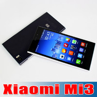 Quad Core xiaomi mi3 wcdma - Hot Selling Original Xiaomi Mi3 Mobile Phone Qualcomm Quad Core Xiaomi M3 GB RAM GB ROM quot Miui V5 p mp Camera GPS