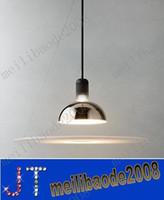 бесплатная доставка Flos frisbi подвесной светильник Акрил Алюминиевая подвеска освещение люстра разработан Акилле Кастильони Dia 60см H73cm MYY1990