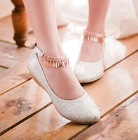 Formal Pumps Low Heel 2014 Sexy Wedding Shoes Silver Low Hill Scrub Waterproof Sequins Pumps Party Prom Nightclub Shoes EM02744