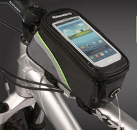 For Apple iPhone bicycle leather saddle bag - Outdoor Cycling Sport Bicycle Bag Mountain Bike Saddle bag pack the car Tube Equipment Accessories Touch Screen Mobile Phone package
