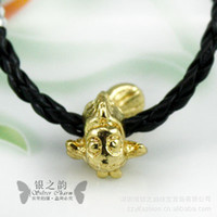 Cord & Wire PA5087 Loose beads PA5087 nano-gold alloy carp diy jewelry accessories jewelry accessories wholesale fish big splash