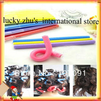 Wholesale MN hot OF New Cute And Beauty Magic Hair Curler Roller Flexi Rod