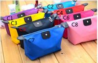 Wholesale 2014 New Fashion Women Lady Girl Reto Waterproof Cosmetic Make Up Sorage Bag Purse