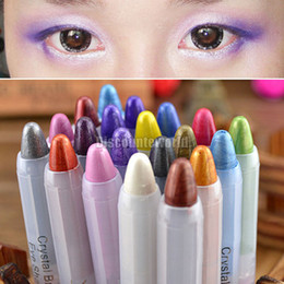 Wholesale Fashion Style Color to choose Eyeshadow Eye Liner Illuminator Makeup Cosmetics Shimmer Pen Pencil
