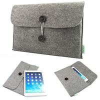 Wholesale Hot Fashion felt Laptop Sleeve Case Notebook bag pouch For MacBook Air pro retina quot inch Mac Book Case
