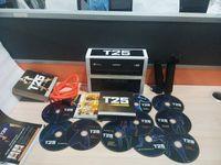Cheap Factory Direct Sale T25 10 DVD Focus MIB Shaun T Crazy Potent Slimming Training Set Alpha Beta Core Speed Body Building Video