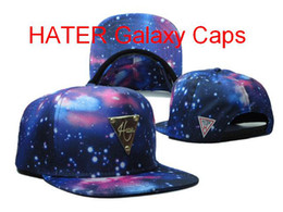 Wholesale 2014 New HATER Galaxy Caps Snapback Caps Hot Style Hater Giveaway Contest Caps Galaxy Hater Galaxy Foamposite Snapback Hat strapback