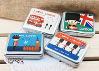 Wholesale New London Games Card Poker tin Playing Cards Christmas Gift Novelty Toy