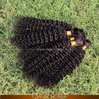 Peruvian Hair peruvian human hair bulk for braiding - pure hair shop afro Kinky Bulk Human Hair for Braiding as Peruvian Kinky Curly Hair Human Hair Jerry Curl Weave Freeship