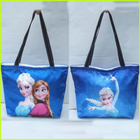 Wholesale Frozen Shoulder Bags Elsa Anna Princess Shoulder Bags Women Shoulder Bags Kids Shopping Bags Children And Women Fashion Handbags GZ GD32