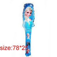 Wholesale cmx25cm Frozen bubble balloon new Frozen balloons party decoration foil balloons kid s toys gifts