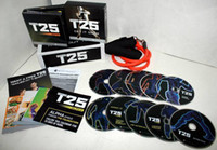 Wholesale 10 DVD Focus T25 Shaun T s Crazy Potent Slimming Training Set Alpha Beta Core Speed T25 Workout Body Building Slimming Fitness Teaching